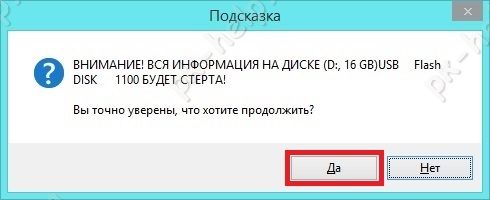 Скрин Форматирование флешки для Windows 10.