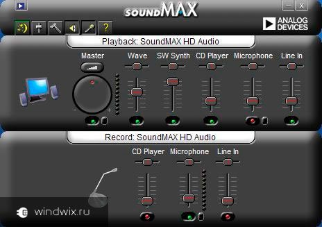 Sound Max 1988B Audio