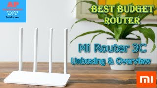 Xiaomi Mi Router 3C:4-Antenna/ Unboxing & Overview {Best Budget Router}