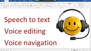 Video The Best Windows 10 - Speech Recognition Tutorial - Speech To Text, LOTS of Editing Examples! download MP3, 3GP, MP4, WEBM, AVI, FLV Agustus 2018