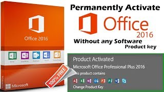 Video Permanently activate Microsoft office 2016 Pro plus Without any software or product key / 2018 download MP3, 3GP, MP4, WEBM, AVI, FLV Agustus 2018