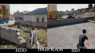 Playerunknown's battlegrounds ОЗУ vs SSD. Сколько оперативы надо? (до релиза)