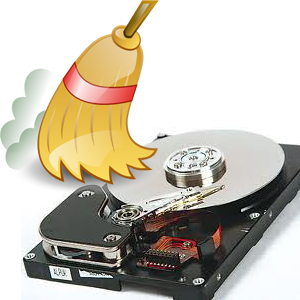Очистка диска - миниатюра